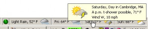 ForecastFox - náhled
