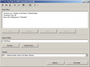 Free YouTube to MP3 Converter - náhled