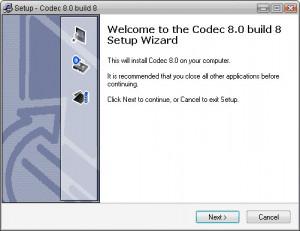Codec - náhled