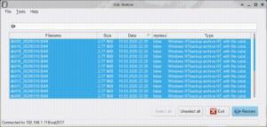 SQL Restore - náhled