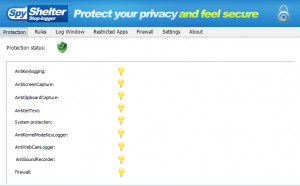 SpyShelter Free  - náhled
