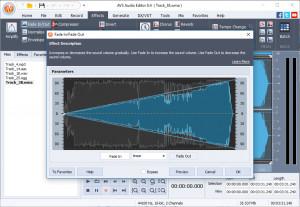 AVS Audio Editor - náhled