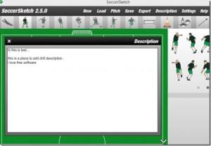 SoccerSketch - náhled
