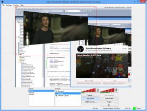 Open Broadcaster Software - náhled