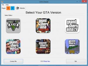 GTA Cheats - náhled