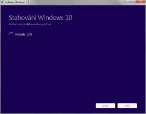 Windows 10 Media Creation Tool - náhled