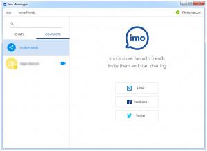 Imo Messenger - náhled