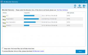M3 Bitlocker Decryption - náhled