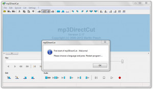 mp3DirectCut - náhled