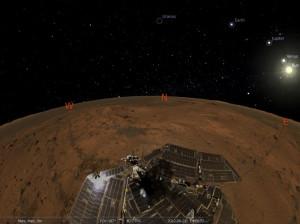 Stellarium - náhled
