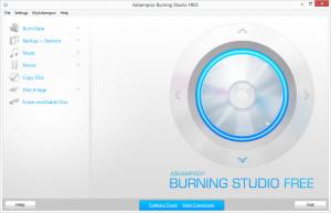 Ashampoo Burning Studio free - náhled