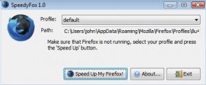 SpeedyFox - náhled