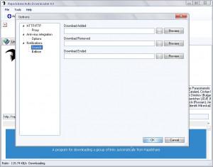 Rapidshare Auto Downloader - náhled