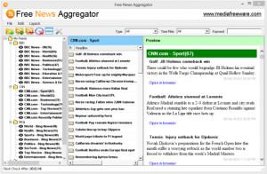 Free News Aggregator  - náhled