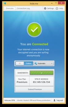 hide.me VPN - náhled