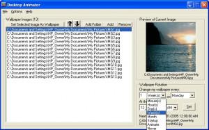 Desktop Animator - náhled