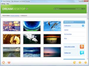 Dream Desktop Agent - náhled