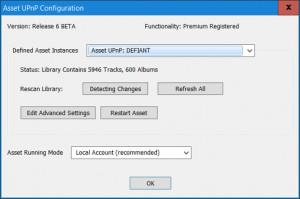 Asset UPnP - náhled