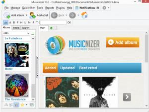 Musicnizer - náhled