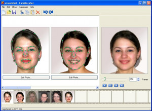 FaceMorpher Multi - náhled