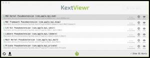 KextViewr - náhled