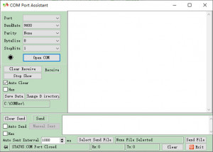 COM Port Assistant - náhled