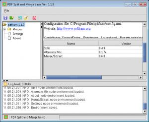 PDF Split and Merge - náhled