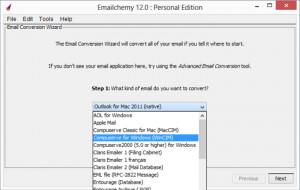 Emailchemy - náhled