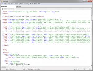 Rejbrand Text Editor - náhled