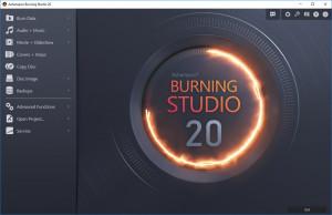 Ashampoo Burning Studio - náhled