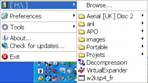 APO USB Autorun - náhled