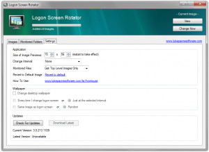 Logon Screen Rotator - náhled
