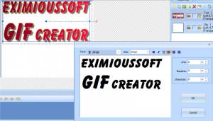 EximiousSoft GIF Creator - náhled