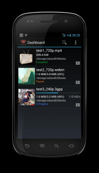 YouTubeDownloader for Android - náhled