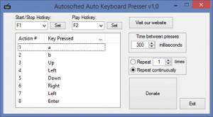 Auto Keyboard Presser - náhled