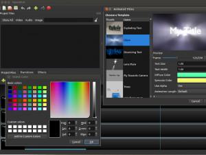 OpenShot Video Editor - náhled