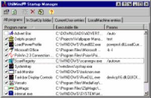 Startup Manager - náhled