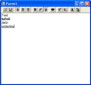 RTF to HTML - náhled