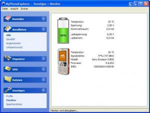 MyPhoneExplorer - náhled