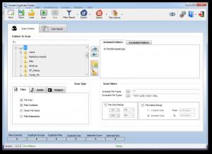 Simple Duplicate Finder - náhled