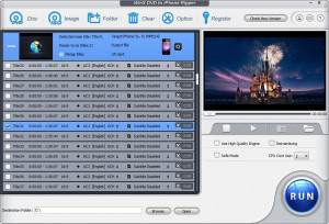 WinX DVD to iPad Ripper - náhled