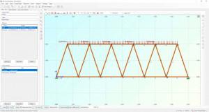 2D Truss Analysis - náhled