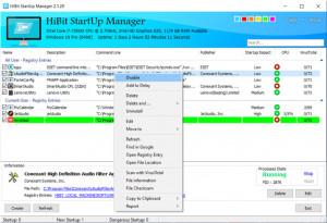 HiBit Startup Manager - náhled