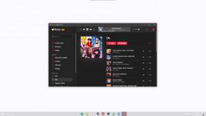 Apple Music Electron - náhled