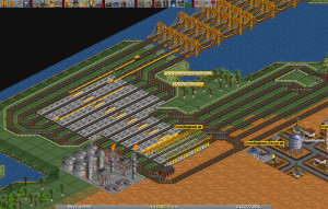 OpenTTD - náhled