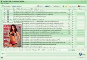 FM PDF To JPG Converter Free - náhled