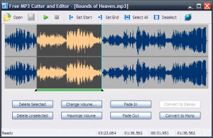Free MP3 Cutter and Editor - náhled