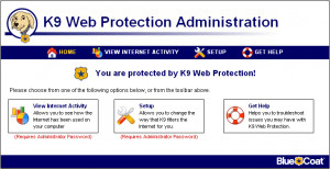 K9 Web Protection - náhled