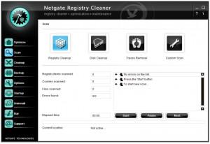 Netgate Registry Cleaner - náhled