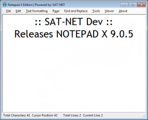 Notepad X Edition - náhled